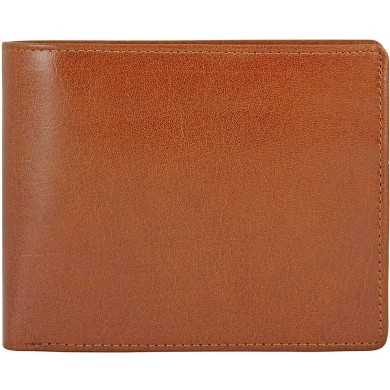 Genuine buffalo leather wallet BW09 Brown