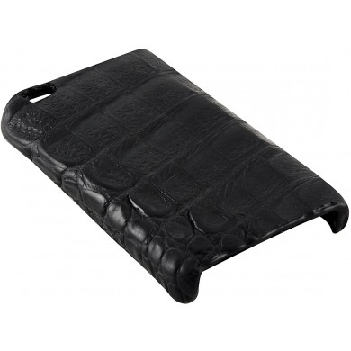 Genuine alligator iPhone 4 / 4S case IPHONE4-AL26BL Black