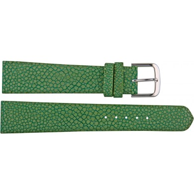 Genuine stingray leather watch band SWB004SA Light Green