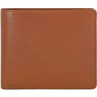 Genuine buffalo leather wallet BW14 Brown