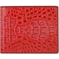 Genuine alligator leather wallet CW101 Red