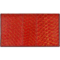 Genuine fish leather wallet FLW001 Red