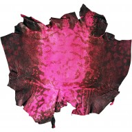 Genuine frog / toad skin FROGSK01 Fuxia
