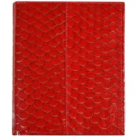 Genuine fish leather wallet FW007 GL Red