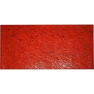 Genuine chicken leather panel HSKPAN01 Red