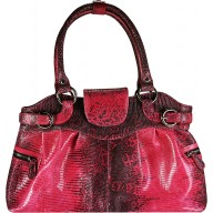 Genuine lizard leather bag JLIZB024 Pink