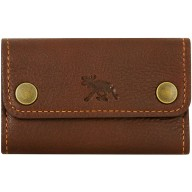 Genuine moose leather key case MOOSEKH449 Brown