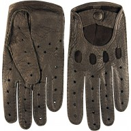 Genuine peccary leather gloves PECGL02 Brown