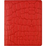 Genuine pig leather wallet PIGWE8020R Red