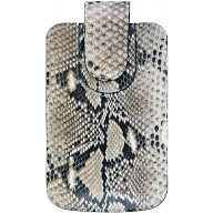 Genuine python leather case PTMOB-01XL Natural