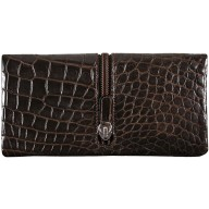 Genuine crocodile leather exclusive wallet WN02107 Maroon