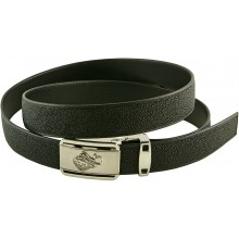 Genuine stingray leather belt 102RN Black