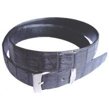 Genuine alligator leather belt 102SMT Black