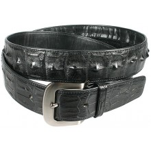 Genuine alligator leather belt 105CKP Black