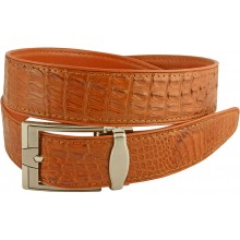 Genuine alligator leather belt 105CM2 Tan