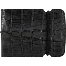 Genuine alligator leather cash cover ALCCOV02HB Black