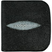 Genuine stingray leather wallet B020 Black