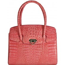 Genuine alligator leather bag BCM185 Pink