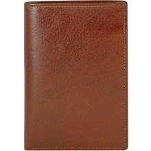 Genuine buffalo leather wallet BW07 Brown
