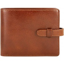 Genuine buffalo leather wallet BW2199 Brown