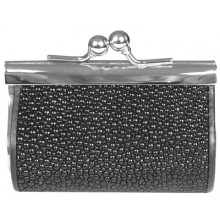 Genuine stingray leather coin purse CP02 Black