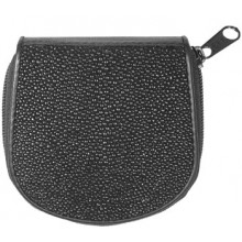 Genuine stingray leather coin wallet CP04 Black