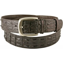 Genuine crocodile leather belt CRBD1-5-01 Brown
