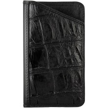 Genuine crocodile leather iPhone 3 / 4 / 4S case CRCC3-SA Black