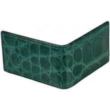 Genuine crocodile leather mirror case CRMIR001 Green