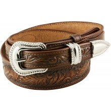 Genuine cow leather belt CVBELT001 Brown