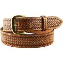 Genuine cow leather belt CVBELT003 Brown