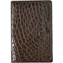 Genuine crocodile leather card holder CW0201 Maroon