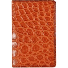 Genuine crocodile leather card holder CW0201 Safari