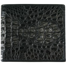 Genuine alligator leather wallet CW101 Black