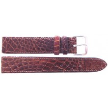 Genuine crocodile leather watch band CWB003 Brown