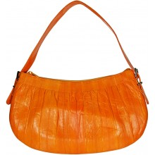 Genuine eel leather bag EEL-BMW20 Orange