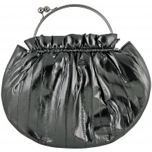 Genuine eel leather bag EEL-CS21 Black