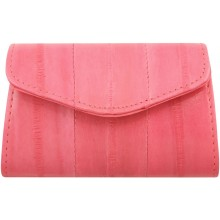 Genuine eel leather coin purse EEL-PC10 Pink