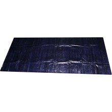 Genuine eel leather panel EELSK01 Midnight Blue