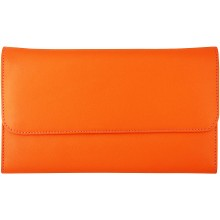 Genuine cow leather wallet FA20699A-D Orange / MC