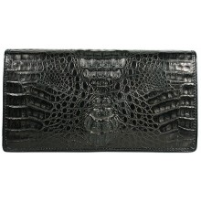 Genuine alligator leather bag FCM08 Black