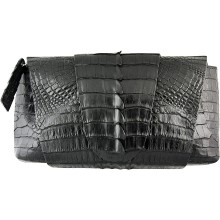 Genuine alligator leather bag FCM159 Black