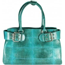 Genuine frog leather bag FROGBAG02 Aquamarine