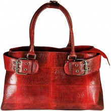 Genuine frog leather bag FROGBAG02 Red