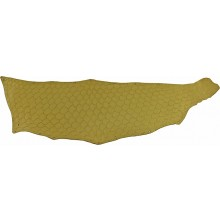 Genuine fish skin FSK03-GM-01 Golden Metallic