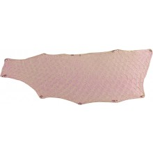 Genuine fish skin FSK03-LPM-01 Pink Metallic