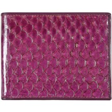 Genuine fish leather wallet FSW001 GL Violet