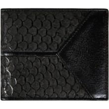 Genuine fish leather wallet FSW2163 Black