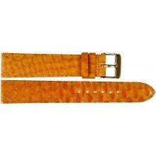 Genuine fish leather watch band FWB001 Amber