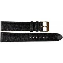 Genuine fish leather watch band FWB001 Black